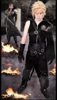 Cloud Strife Cosplay by zackyalexhell