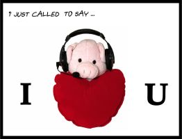 I just called to say I love U by dever-boy