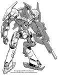 Freelance Mecha Design 03 by Mecha-Zone