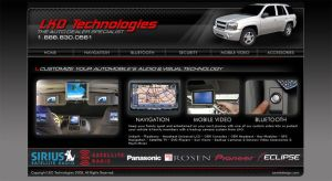 LKO Technologies Auto Website by Cameron-Schuyler