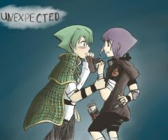 Lyserg and Hinata: Unexpected by spoiledmaniac