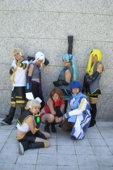 vocaloid group by BlazeHikari