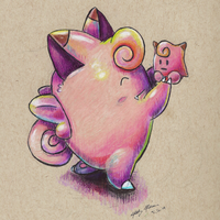 035 Clefairy by jmonkey2105