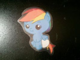 Baby Rainbow Dash by Nahima