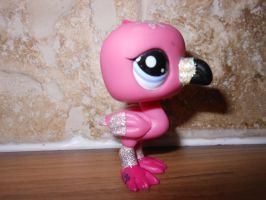 lps flamingo custom (side view) by megatiger42