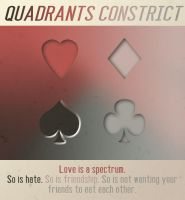 Quadrants Constrict by Squiddleknit