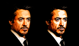 Robert Downey Junior-A by donvito62