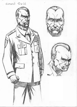 General Fields from The Continuum - Spades Comic by ecvpress