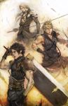 FFVII, THE SOLDIERS by longai