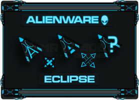 Alienware Eclipse Cursors by Mr-Blade