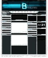 Bionic Gaming Template FORSALE by crizzo