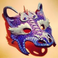 Dragon God of Water [Mask] by DragonLindy