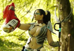 Headhunter Nidalee - Spiteful by dani-foca