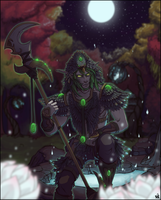 The Druid Veracri by CrewOfTheBloodyDawn