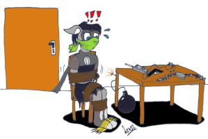 AT: Even superthief can get into trouble by Levvvar