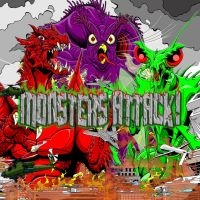 Monsters Attack box art by kaijuverse