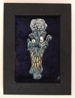 Woodcut zombie by 1311