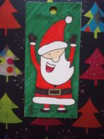 SANTA - Present Tag by eleanor-rigby92