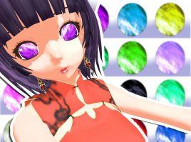 MMD Jewel Eye Texture by Xoriu