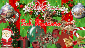 Pack PNG's #1 [ Merry Christmas! ] by AluhI