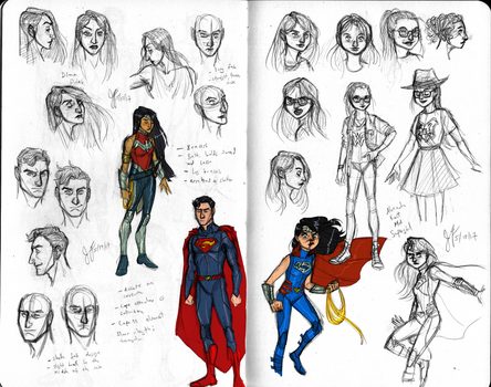 SuperWonderFam Concepts by Capella336