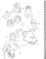 sketchbook page 2 by makani