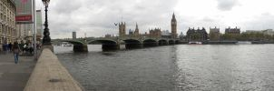 View Across the Thames by AgtBauer24