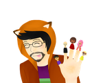 SlyFoxHound - Tomodachi Life by Caryn-Hau