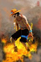 --Fire Ace-- by wyv1