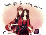 [DGM] Thank you for creating me! by GazeRei