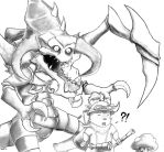 Cho'gath and Teemo by x-Inflict-x