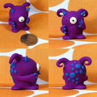 Hermina the Timid Monster by TimidMonsters