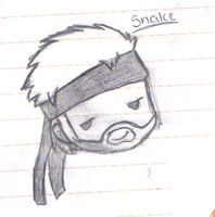 .:SSBB Chibis:. Snake by WolfMind1