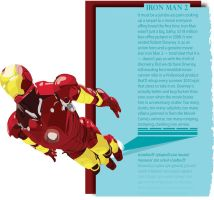 Iron Man Editorial    simple by B-Rye1001