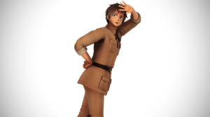 MMD New Spain Model by UniDX! by nonefullstop