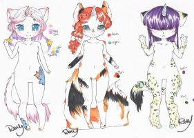 : UniKitty Adopts Set : by Chewy-Adopts