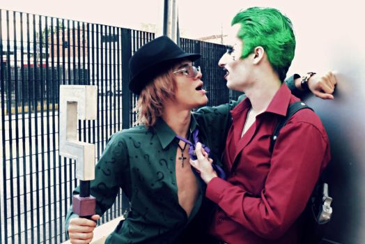 The Riddler Feat. The Joker - Harley Who? by DashingTonyDrake