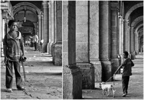 A Boy And His Dog by versifier