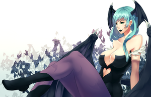 Morrigan Aensland by ragecndy