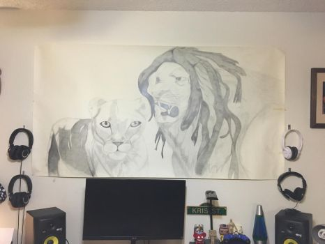 King and Kween of Jungle by YungDeep