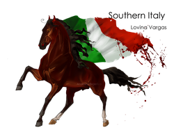 Horse Hetalia: Southern Italy by Moon-illusion