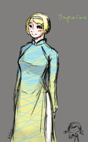 [APH] Ukraine by mika4eyed
