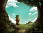 OoT: The Outset of a Journey by KiiroiKat