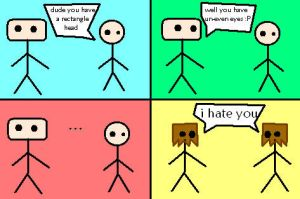 Stick figures are awesome by lillyisawesome