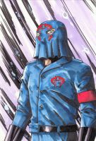 Cobra Commander by kentarcher