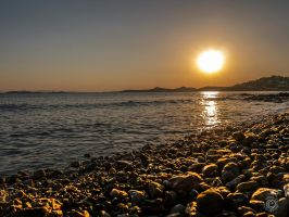 Sunset on the Beach00002 by etsap