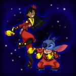 LiloXStitch Space Adventure by JasmineAlexandra