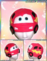 Lightning McQueen Hat by AnimeNomNoms
