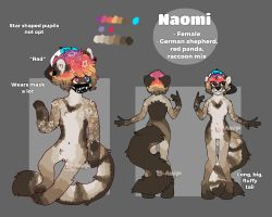 Naomi Reference Sheet - CLOTHES in desc by El-Amigo