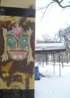 Relish wheatpaste by gowsk